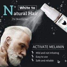 Beard Hair Spray Moisturizing Scalp Lightening White Pigment Nourishing Liquid