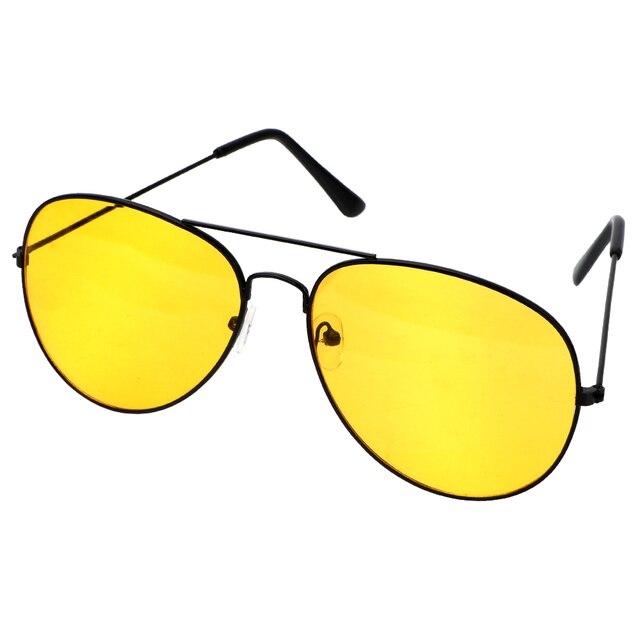 Anti-glare Polarizer Sunglasses Car Drivers Night Vision Goggles Polarized Driving Glasses Copper Alloy Sunglasses 2