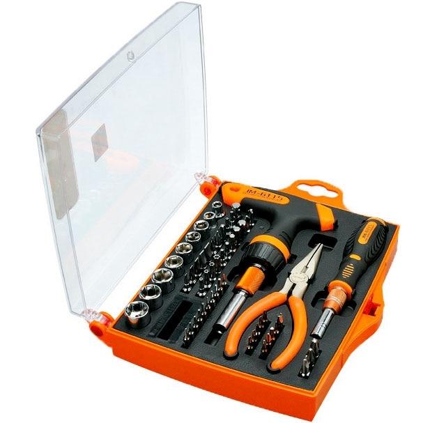 JM-6115 60 in 1 Precision Screwdriver Hardware Repair Tools Demolition Kit JM-6115 60 in 1 Precision Screwdriver Hardware Repair Tools Demolition Kit