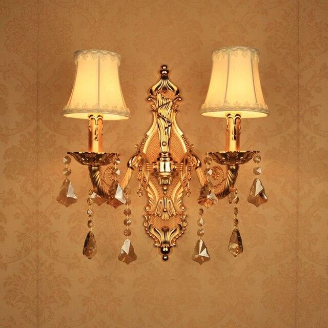 Latón vela apliques moderno cuarto de baño espejo luz dormitorios ...