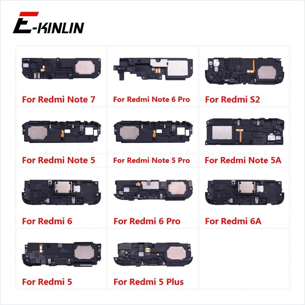 New Loudspeaker For XiaoMi Redmi Note 7 6 5 Pro Plus 6A 5A S2 Loud Speaker Buzzer Ringer Flex Replacement Parts