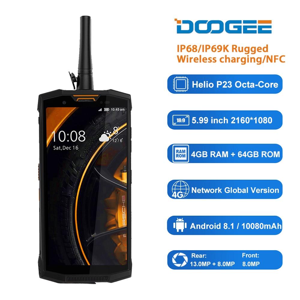 DOOGEE S80 Lite IP68 10080mAh Octa core Mobile Phone 5 99 FHD Android 8 1 Oreo