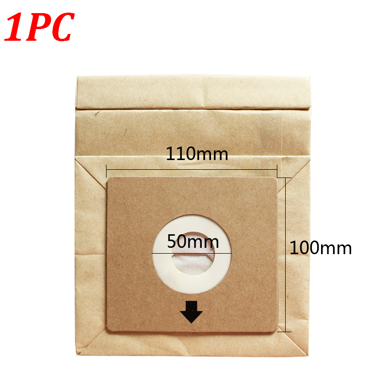 1PC Vacuum Cleaner Dust Bag For FC8334 FC8338 FC8349 FC8344 100mm*110mm Dust Collecting Paper Bags Vacuum Cleaner Accessories