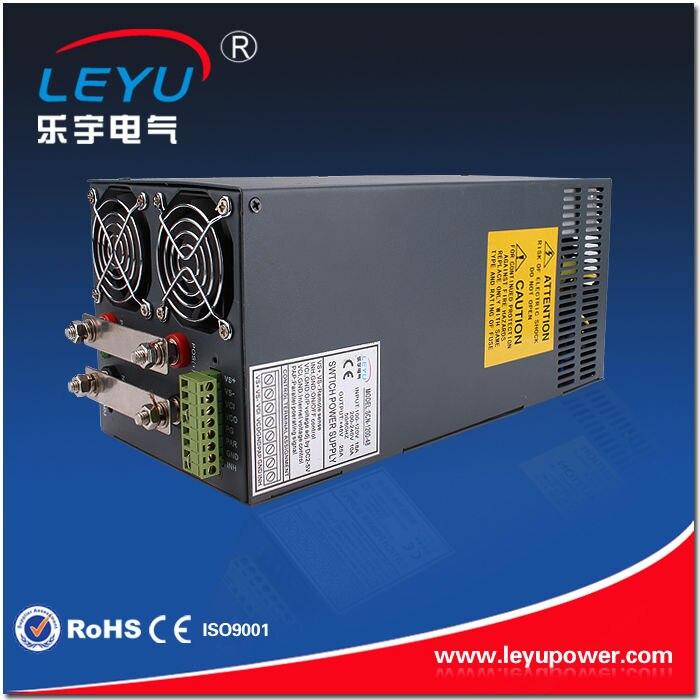 Fonction de fonctionnement parallèle intégrée 1200 w alimentation à sortie unique 50a