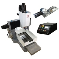 LY 3040 full cast iron 3.5KW CNC engraving machine engrave router 4 axis servo motor version Z axis height 250mm 220V
