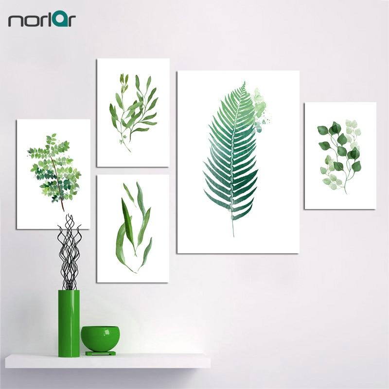 Акварель Квітка Північного стилю - Домашній декор