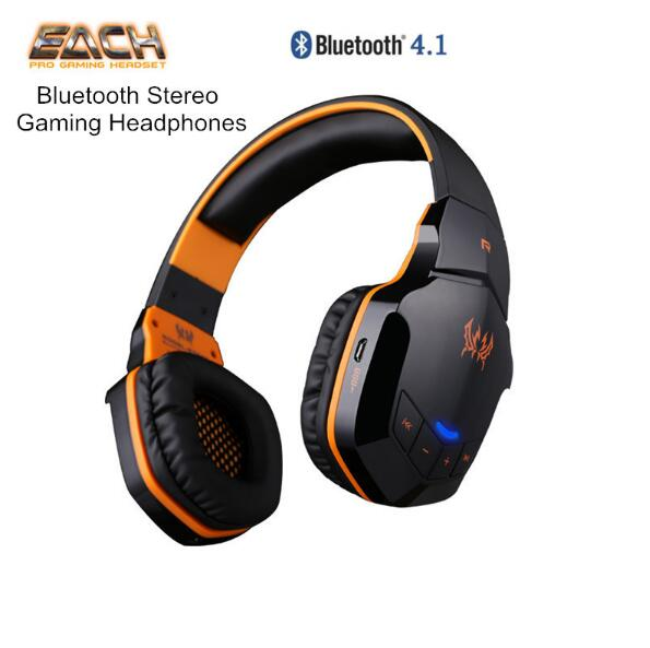 EACH B3505 Wireless Bluetooth Stereo Gaming Headphones Game Headset PC Gamer Microphone HiFi Build-in NFC pk G4000