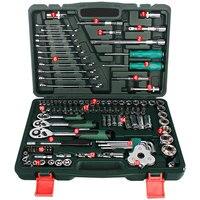 Двигатель Инструменты для ремонта автомобилей 120 шт. инструмент Комбинации крутящий момент ключи ratchet шестигранного ключа механики инструм