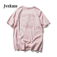 Jvzkass Spring new womens 2018 half-sleeved Japanese retro jacket convex printed short-sleeved t-shirt female Z174