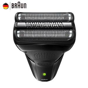 Image 3 - Braun 301 s 남성용 전기 면도기 wholebody washable 왕복 트리플 블레이드 페이셜 헤어 케어 electric sahver rechargeable