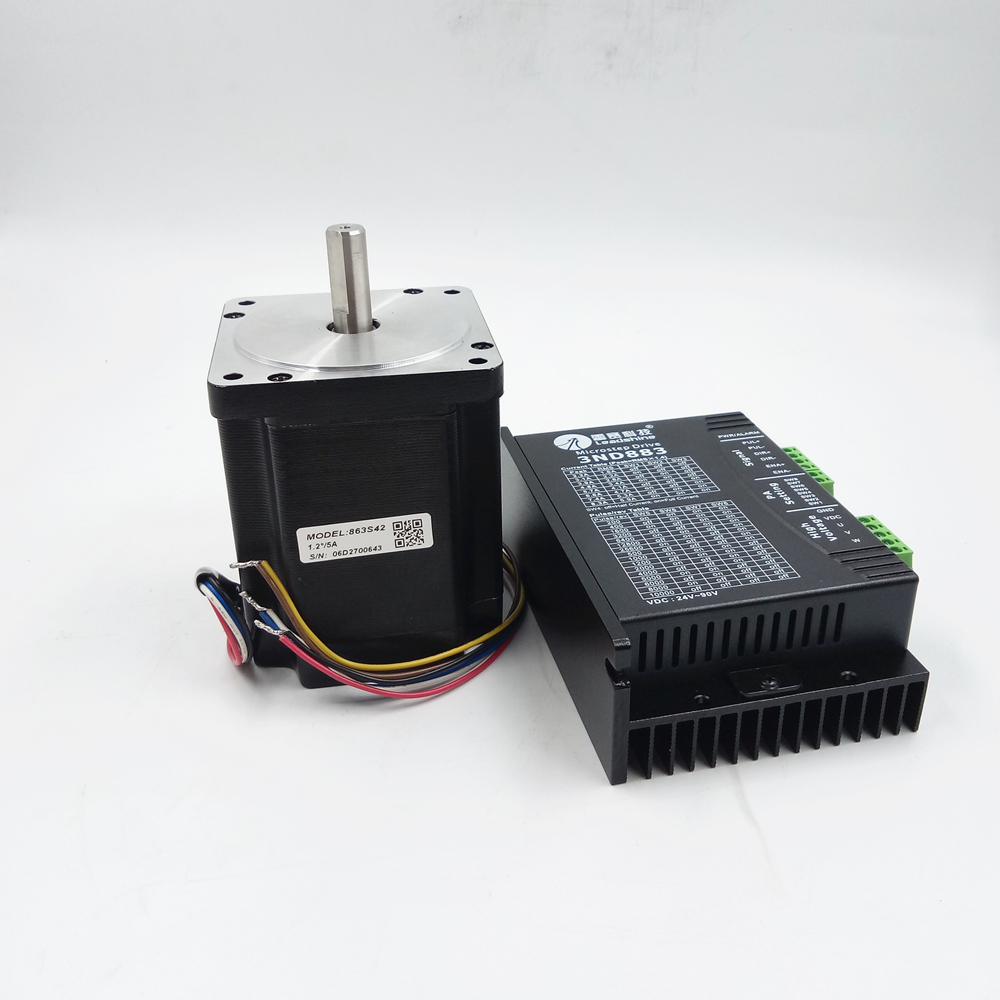 3-phase Stepper Motor Drive 3ND883+863S42 4.2 N.m New In Box rc2604h stepper motor drive 578 586