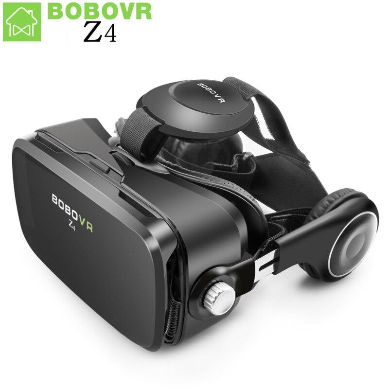 VR Réalité Virtuelle lunettes BOBOVR Z4 VR Boîte 2.0 Lunettes 3D bobo vr google carton casque Pour 4.3-6.0 pouce smartphones