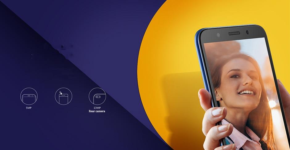 """Оригинальный HuaWei наслаждаться 8e lite 4G LTE Мобильного Телефона MTK6739 4 ядра Android 8,0 5,45 """"FHD 1440x720 2 ГБ Оперативная память 32 ГБ Встроенная память 13.0MP"""