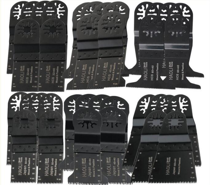 36 pcs/set Universal Oscillating Tool Saw Blades Accessories fit for Multimaster power tools as Fein, Dremel etc,metal cutting see by chloé накидка