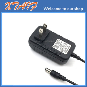 Image 2 - Ücretsiz kargo YENI 1 ADET AC/DC 9 V 2A Anahtarlama güç kaynağı adaptörü Ters Polarite Negatif Içinde ABD plug 5.5mm x 2.1mm 2.5mm
