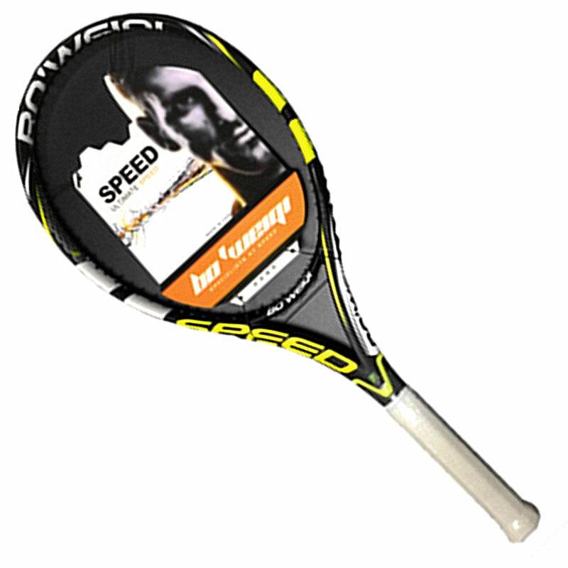 Fibre de carbone tous les entraîneurs professionnels de raquette de Tennis hommes et femmes recommandent toutes les raquettes de Tennis avancées en carbone