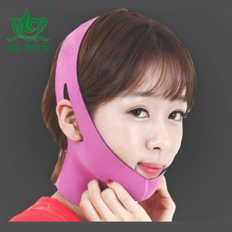 Cn Herb Face Lift, Powerful Mask With Small Face, Bandage,double Chin
