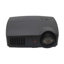 Larga vida LED Full HD LED de cine en casa TV 3D proyector lcd Multimedia video Proyector Del partido