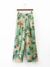 Женские брюки Новинка лета 2021 женские модные пляжные с принтом