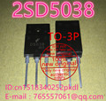 100% New original 2SD5038 TO-3PF D5038 power supply switch tube display tube