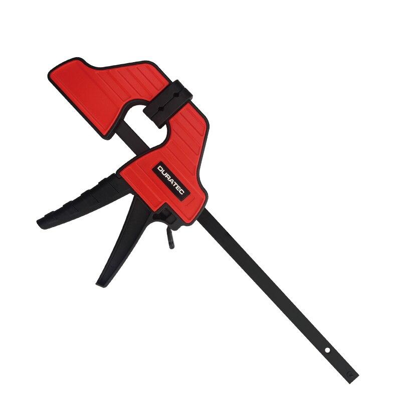 Duratec de alta resistencia F abrazadera Clip de madera de trabajo rápido agarre F Barra de estilo de carpintería abrazaderas 4 6 12 pulgadas