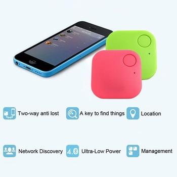 цена на Smart Wireless Bluetooth 4.0 Tracker Elderly Child Pet Wallet Key Car Bags Suitcase Anti Lost GPS Locator Alarm Finder SGA998