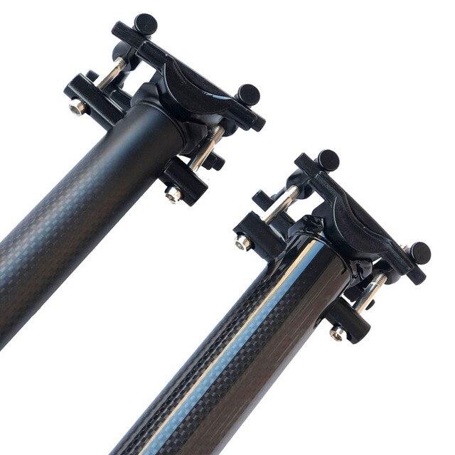 2018 GEEN LOGO Carbon zadelpen 27.2/30.8/31.6 MTB fiets zadelpen buis full Carbon fiber zadelpen Carbon MTB glossy/matte