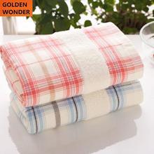 Classic Plaid Cotton Towel Gauze Face Towels Bathroom Products Gift Bath High Quality Washcloth Washrag