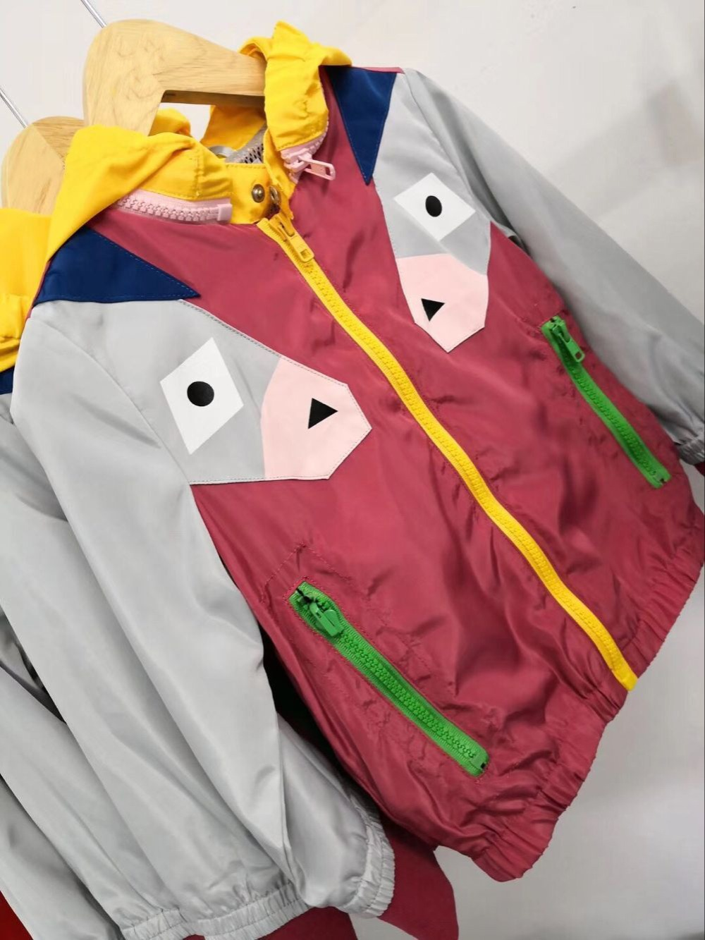 Children Hooded Jackets For Boys Girls Outerwear Hoodie Baby Jacket Windbreaker Children's Clothes in stock цены онлайн