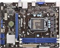 Used, 100% original motherboard for ASRock H61M VS4 LGA 1155 DDR3 RAM 16G Integrated graphics Motherboard