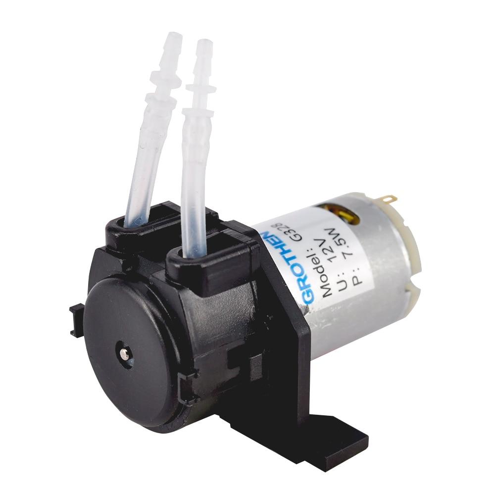 12V DC Dosing Pump Peristaltic Pump For Aquarium Lab ...