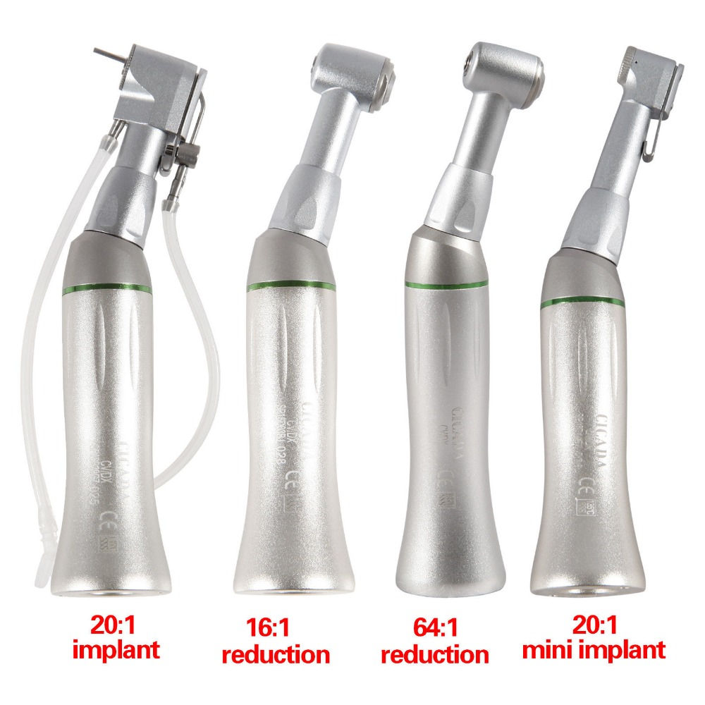 CICADA Dental Reduction Implant Endodontic Contra Angle Handpiece NSK Style