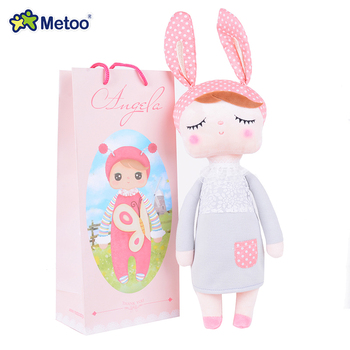 HOT Metoo reborn babies Novelty lovely Cartoon Animal Design Stuffed Plush Toy Cute Doll for Kids Birthday / Christmas Gift