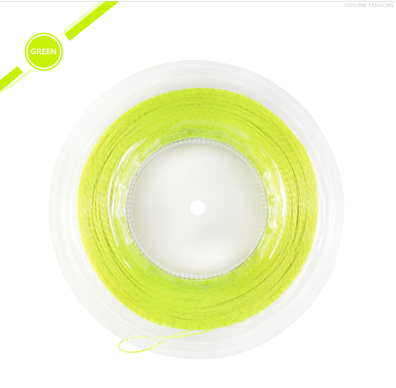 200m / roll FANGCAN TS201 Filaments Polyester Tennis String för Tennisracket 1.35mm Diameter Tennis String