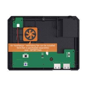 Image 5 - Retroflag MEGAPi чехол SEGA MEGA MD стиль Retropie игровая консоль для Raspberry Pi 3 Model B + (plus)/3B, чехол с вентилятором комплект радиаторов
