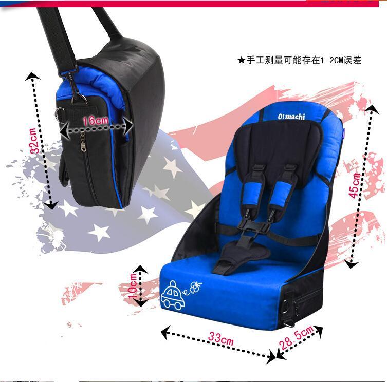 Бесплатная доставка Портативное детское автокресло детская Автомобильная воздушная подушка mbl010