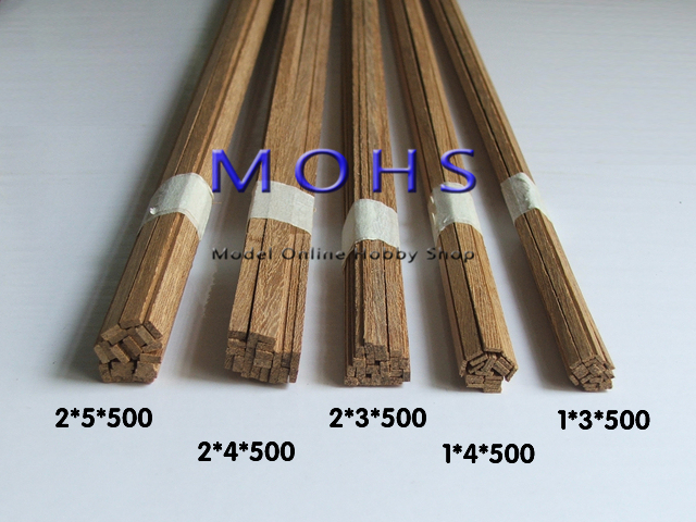 High Quality 20pcs Lot Teak Wood Slats Wooden Scale Sailboat Warship Batten
