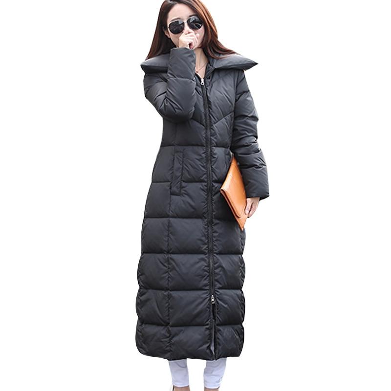 Aliexpress.com : Buy 2015 New Winter Black Jacket Women Maxi Long