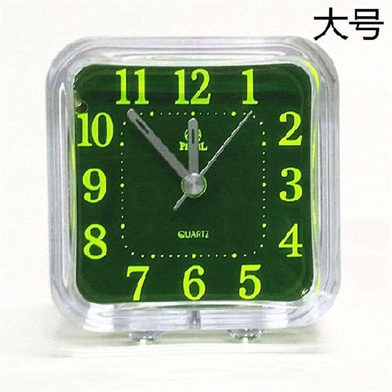Modern Originality Blue High Quality Clock Lovely Children Desk Clock Christmas Gift Student New