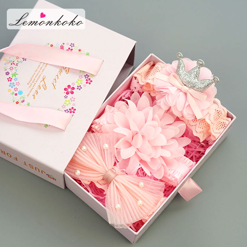 [Lemonkoko] 1Set=3Pcs Baby Girls Hair Clip Big Bow Knot   Headwear   Party Birthday Present Baby Children Hairband Accessories