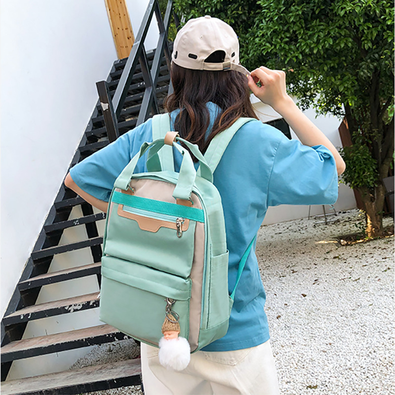 Women High Quality Backpacks Bagpack Female Designers Back Pack Bags Woman Fashion Canvas Luxury Backpack Bagpack Bookbags in Backpacks from Luggage Bags
