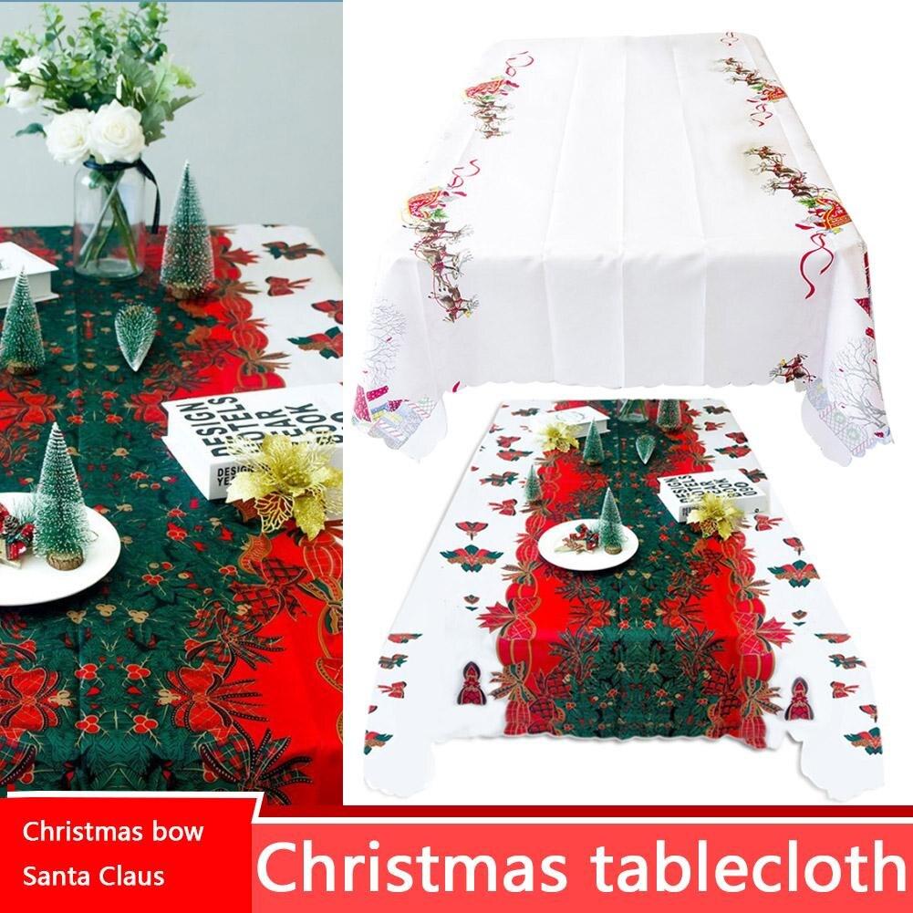 1 pc 150 180 cm Festa de Natal Decoração de Natal Toalha De Mesa toalha de  mesa Toalha de Mesa Do Hotel Toalha de Mesa de Natal Bonita Decoração de  Mesa em ... e0ddc3a3a65dc