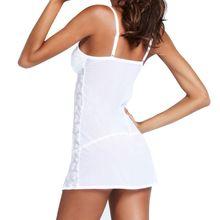 Babydoll Sleepwear G-string Mini Dress