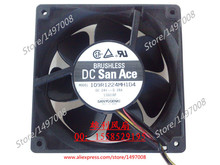 Free Shipping For Sanyo 109R1224MH1D4  DC 24V 0.28A 4-wire 120mm, 120x120x38mm Server Square fan