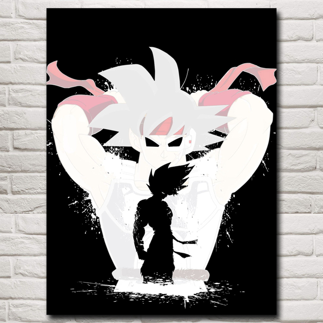 Dragon Ball Z Super Son Goku Anime Cartoon Art Silk Poster Home Wall Decor Printing 12×16 18×24  24X32 Inches Free Shipping