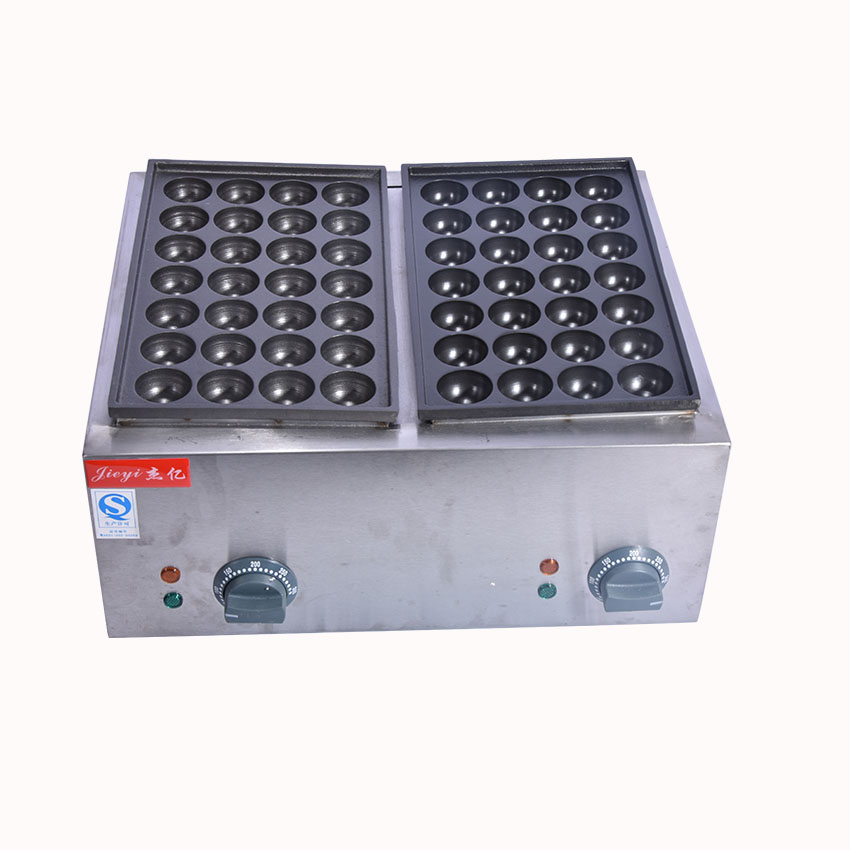 1PC FY-55 110V/220V Commercial Electric Fish Pellet Maker/ Fish Ball Machine/ Takoyaki Maker/ Fish Ball Grill 1pc high quality commercial electric 2 plate 36 hole takoyaki maker takoyaki machine fish ball grill 110v or 220v 4kw