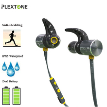 BX343 Wireless Headphones Bluetooth IPX5 Waterproof Earphons Stereo Headsets with Microphone Earbuds For Iphone Phone Sport