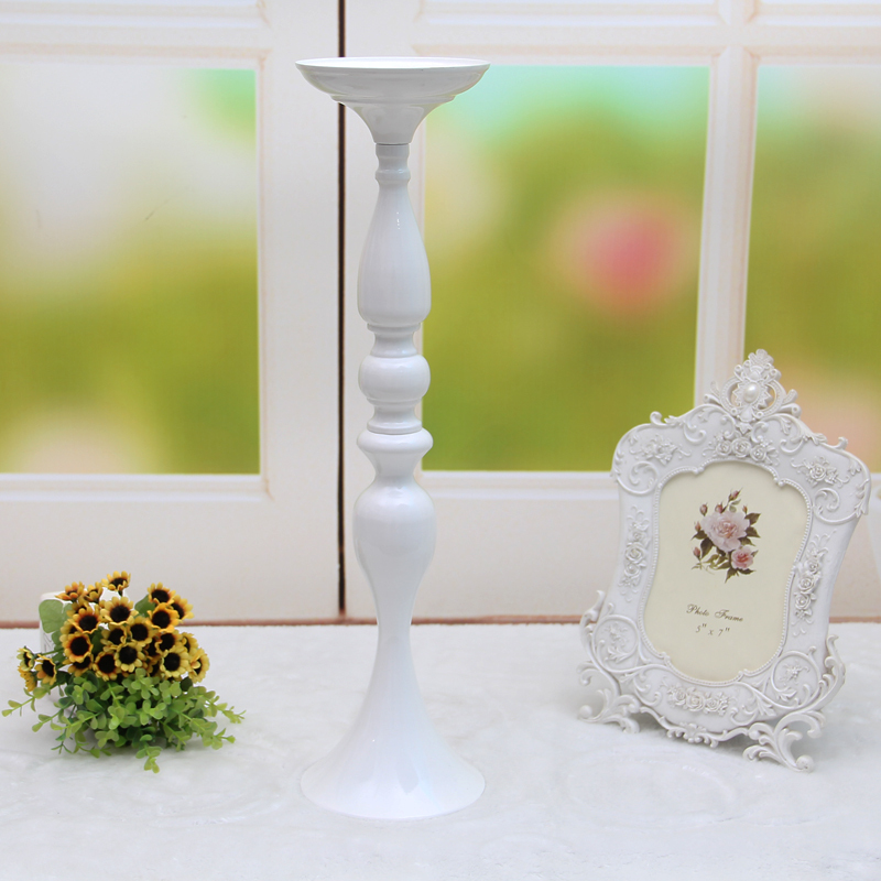 3 Colors Metal Candle Holders 50cm20 Flower Vase Rack Candle Stick