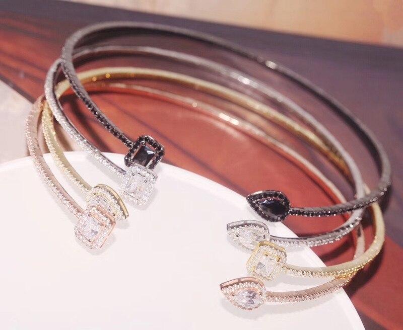 Здесь можно купить  Designer Fashion 925 Sterling Silver Jewelry 3A Cubic Zirconia Party Collar Necklace  Ювелирные изделия и часы