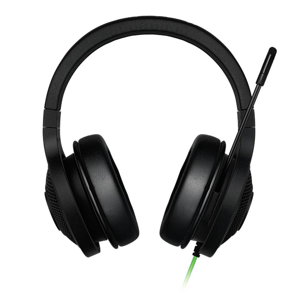 Razer Kraken esencial auriculares con aislamiento de ruido-oído analógico de 3,5mm con micrófono para PC/portátil/teléfono 1,3 m negro auriculares para juegos - 2
